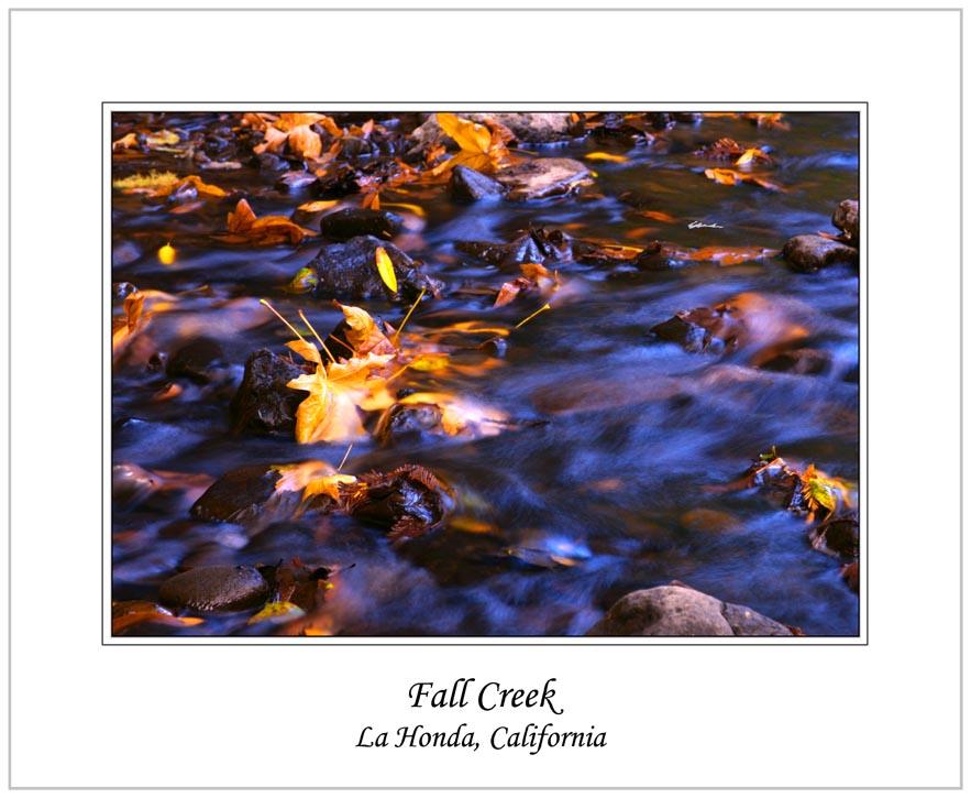 """фото """"Fall Creek"""" метки: путешествия, пейзаж, Северная Америка, вода"""
