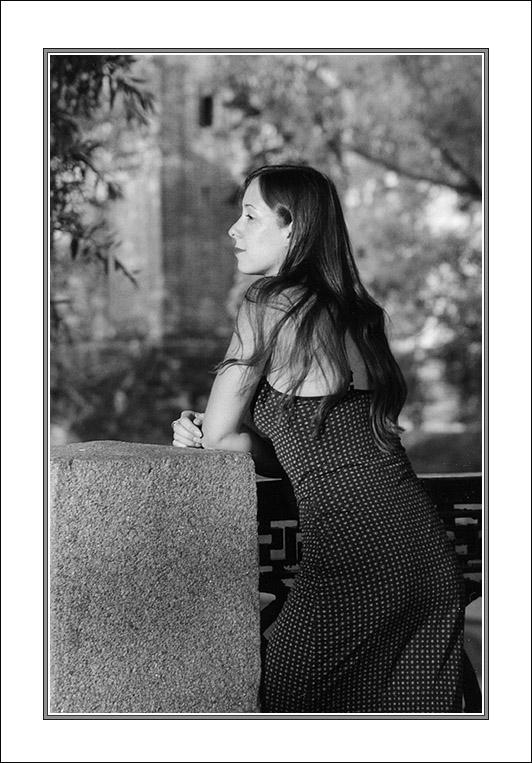 """фото """"Однажды вечером..."""" метки: портрет, черно-белые, женщина"""