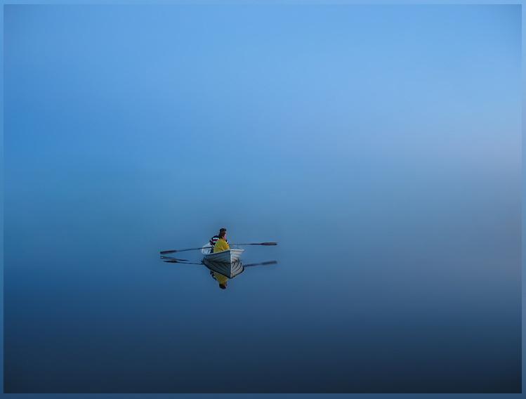"""фото """"Kind Of The Blue"""" метки: пейзаж, вода, лето"""