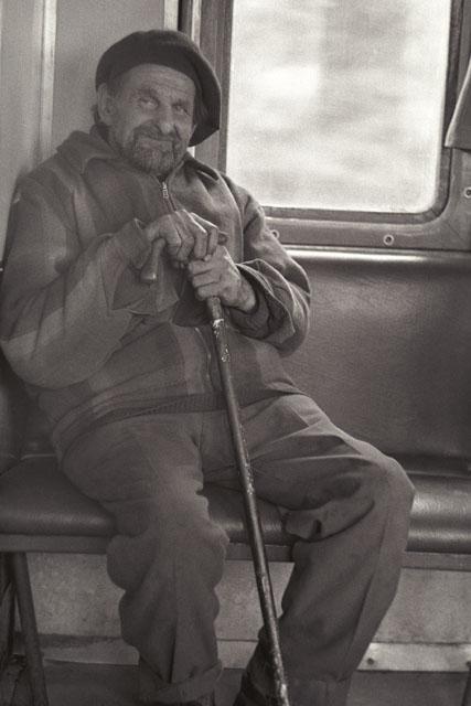 """фото """"in the train..."""" метки: портрет, мужчина"""