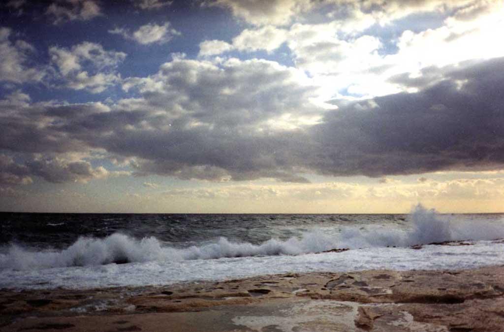 """фото """"Мальта. Зимний шторм"""" метки: пейзаж, путешествия, Европа, вода"""
