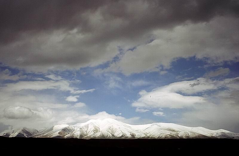 """фото """"И расступились Тучи, представив Солнцу грацию Гор"""" метки: пейзаж, горы, облака"""