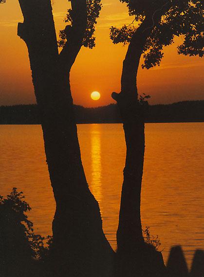 "фото ""Autumn Sunset"" метки: пейзаж, закат"