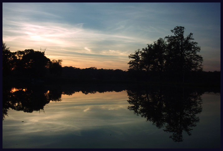 "фото ""Reflection No.3"" метки: пейзаж, закат, осень"