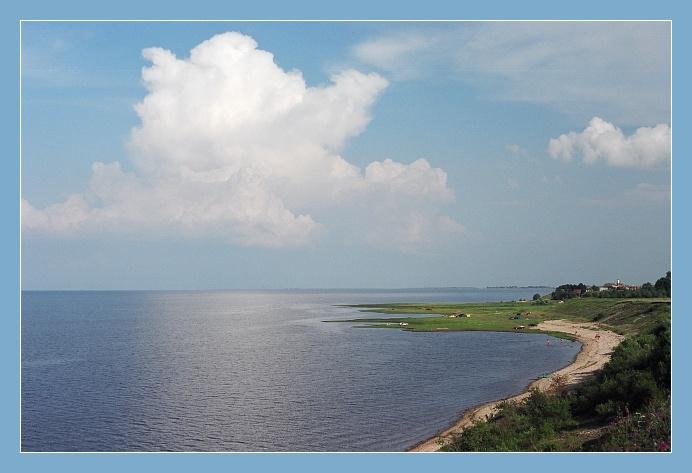 """фото """"Новгородское Море / Ильмень"""" метки: пейзаж, путешествия, Европа, вода"""