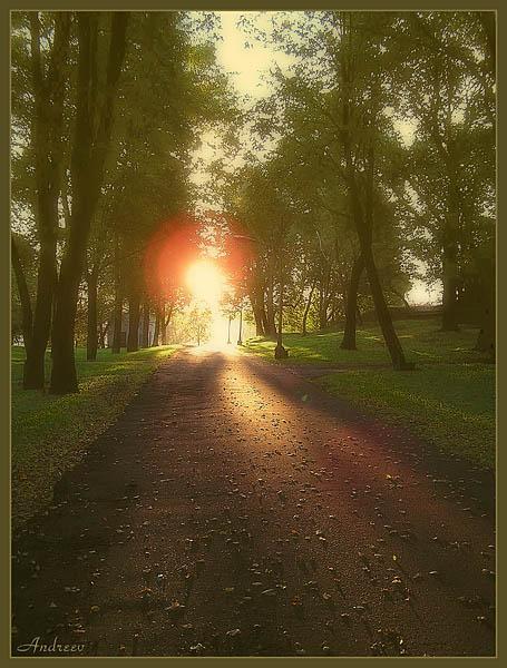 "фото ""Начало дня."" метки: пейзаж, природа, закат"