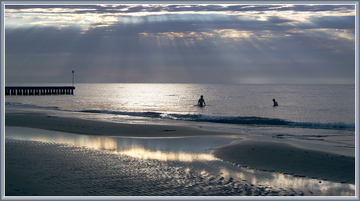 "фото ""Попрощаемся с морем ..."" метки: пейзаж, вода, закат"