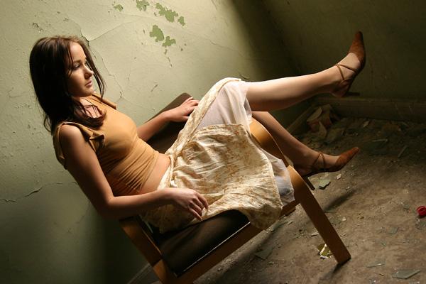 """фото """"Waiting"""" метки: портрет, женщина"""