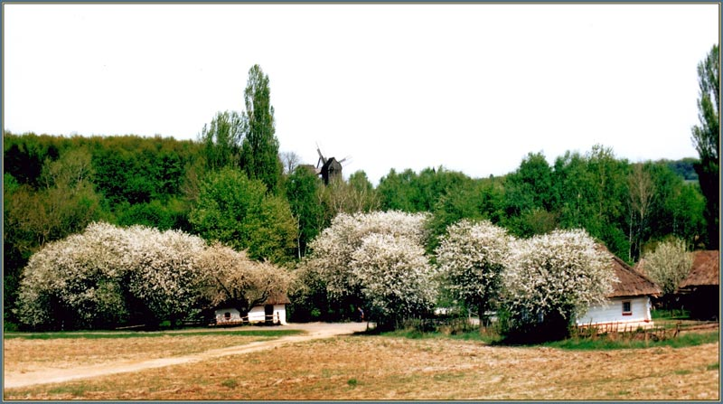 "фото ""Old Village"" метки: архитектура, пейзаж, весна"
