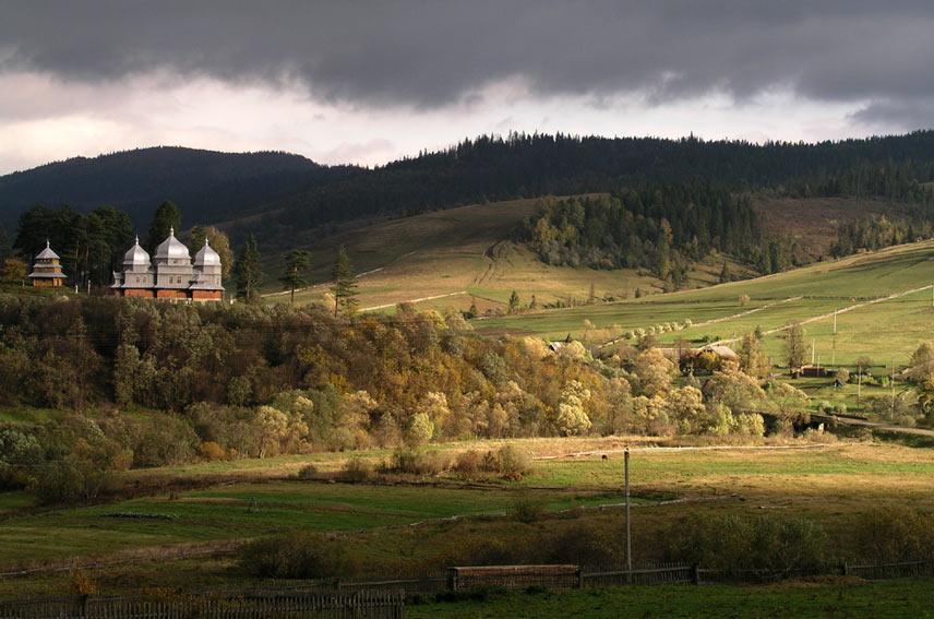 """фото """"Свет в тёмном царстве"""" метки: природа, пейзаж, горы"""