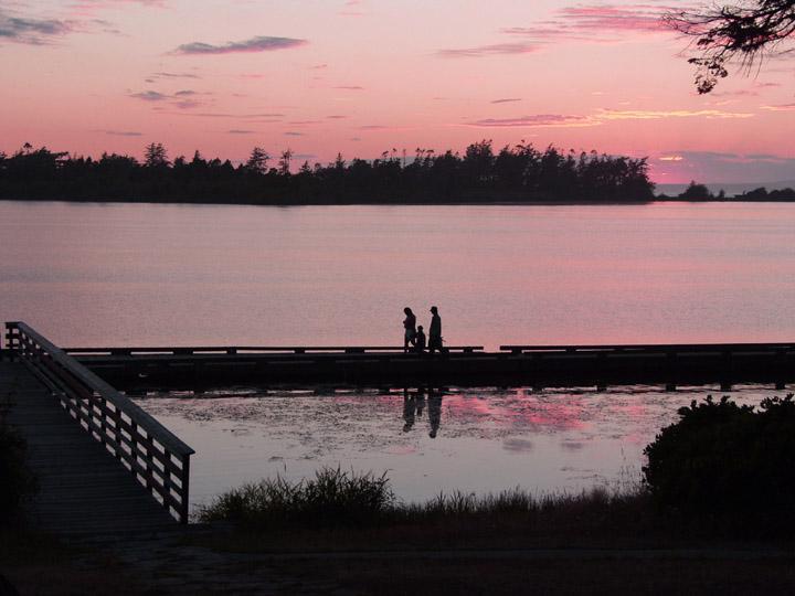 """фото """"Family Outing"""" метки: пейзаж, закат"""