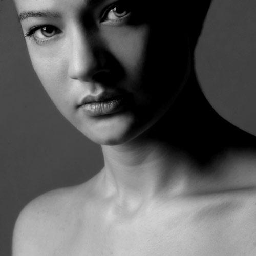 """фото """"Portrait n° 342"""" метки: черно-белые,"""