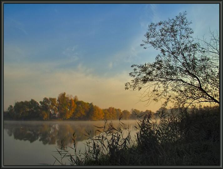 """фото """"Под небом голубым..."""" метки: пейзаж, закат, осень"""