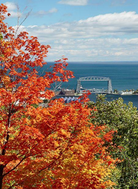 "фото ""Autumn in Duluth"" метки: пейзаж, путешествия, Северная Америка, осень"