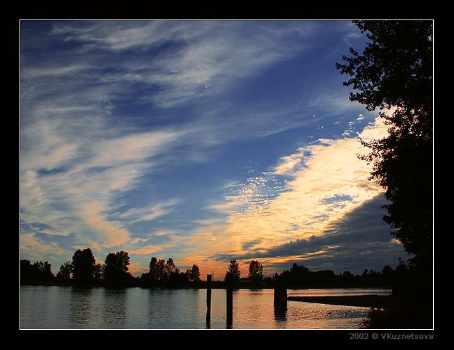 """фото """"+++"""" метки: пейзаж, закат, облака"""