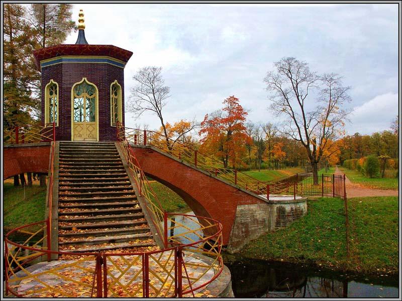 """фото """"Осенние кадры-8"""" метки: пейзаж, архитектура, осень"""