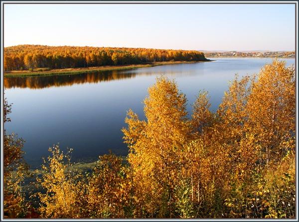 """фото """"Золотая осень на Чусовой"""" метки: пейзаж, осень"""