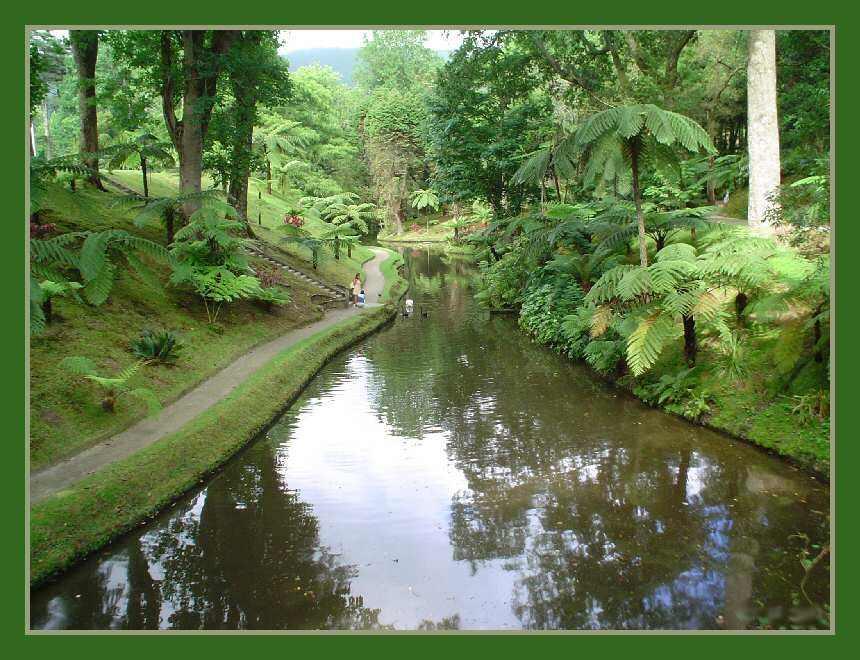 "фото ""Lake - Furnas Garden"" метки: пейзаж, вода"