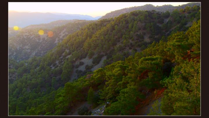 """фото """"Приложение к тональной перспективе"""" метки: пейзаж, горы, закат"""