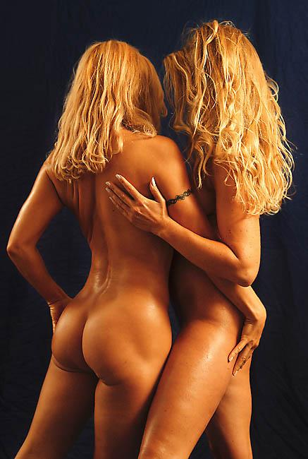 """фото """"2 blonds 161003"""" метки: ню,"""