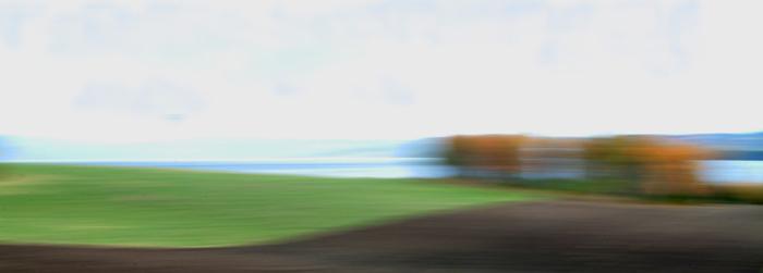 """фото """"Landscape abstraction"""" метки: абстракция, пейзаж, осень"""