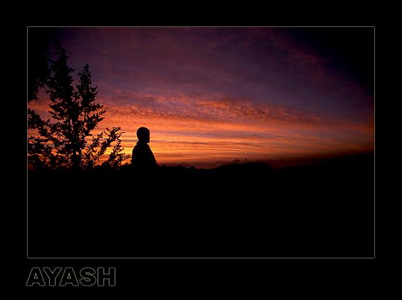 """фото """"Morning Clouds I"""" метки: пейзаж, закат, облака"""