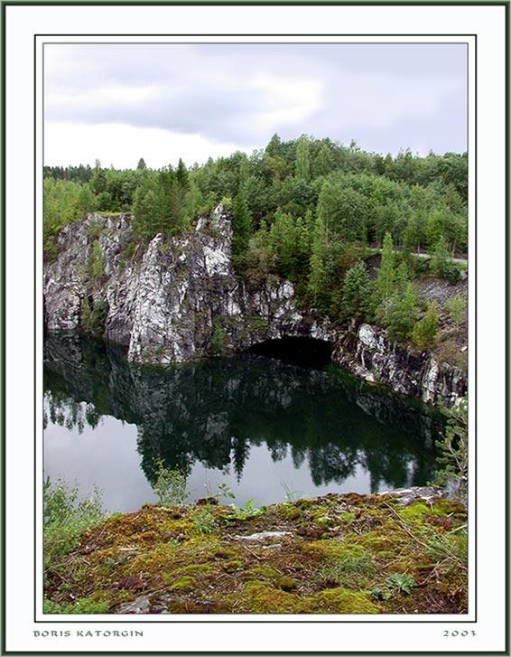"""фото """"Заброшенный карьер-2"""" метки: пейзаж, вода, лес"""