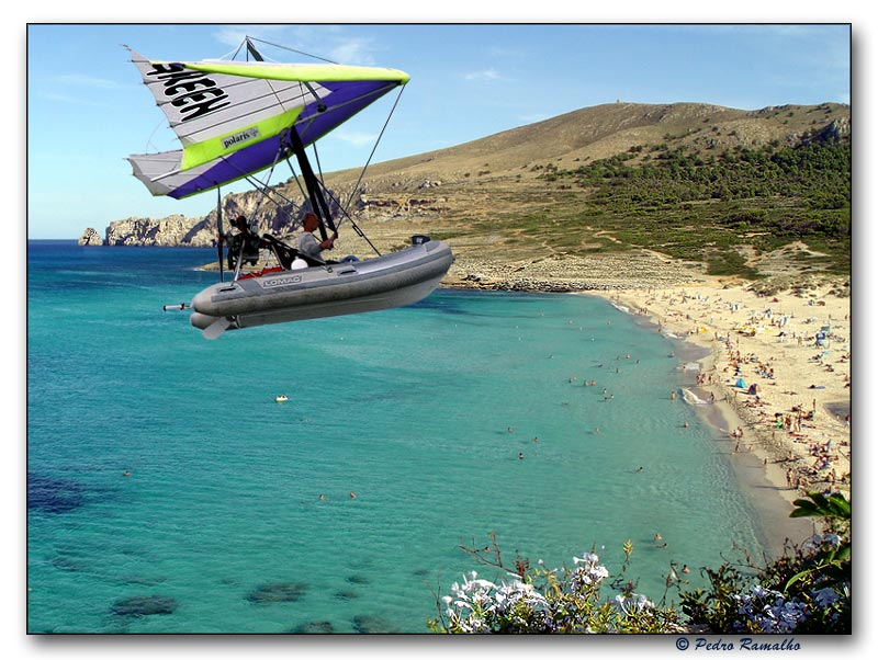 "фото ""Flying Boat...  to Vera Lucia"" метки: пейзаж, путешествия, Европа, вода"