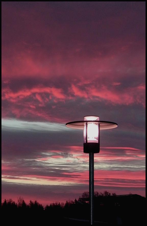 "фото ""Look - the new day has begun..."" метки: пейзаж, закат"