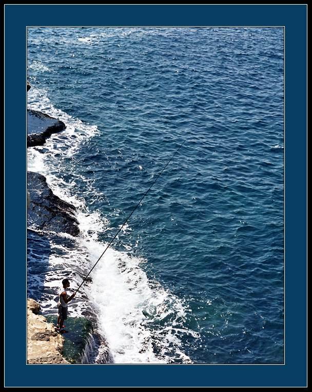 """фото """"FISHMAN"""" метки: пейзаж, жанр, вода"""