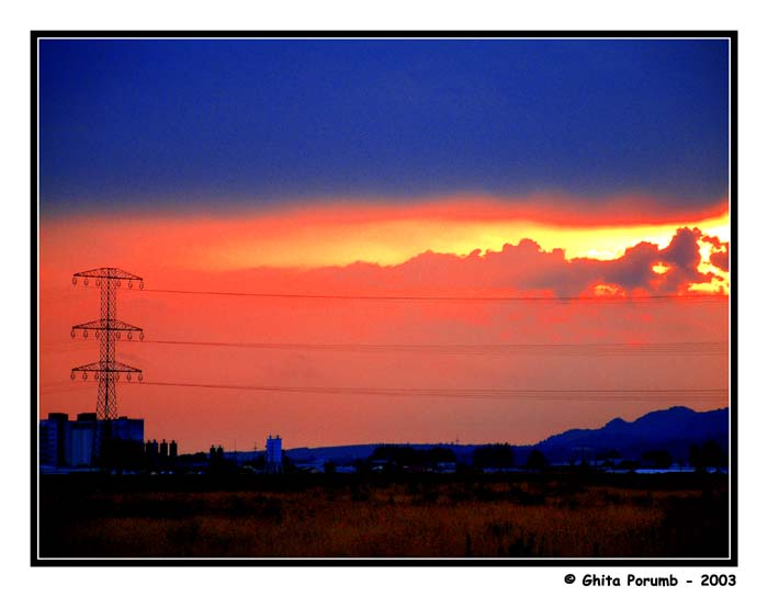 """фото """"Cer de foc"""" метки: пейзаж, облака"""