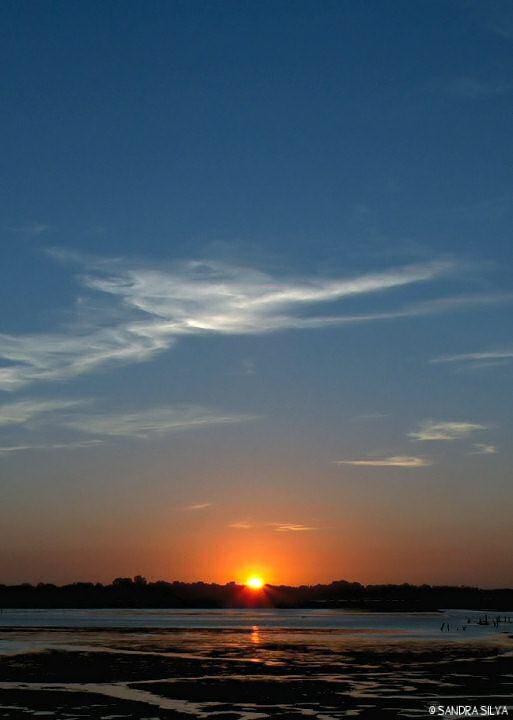 "фото ""Aveiro Sunset"" метки: пейзаж, закат"
