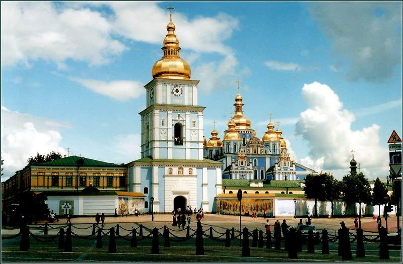 "фото ""Kiev, Michailovsky"" метки: архитектура, путешествия, пейзаж, Европа"