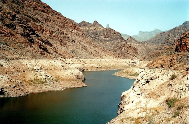 """фото """"After Rain River, Canarias"""" метки: пейзаж, путешествия, Африка, горы"""