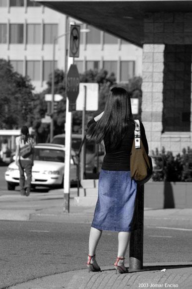 "фото ""Waiting....."" метки: черно-белые, разное,"