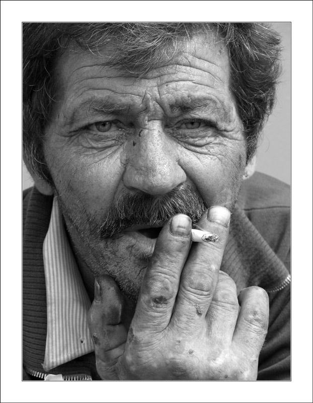 "фото ""Вся жизнь."" метки: портрет, мужчина"