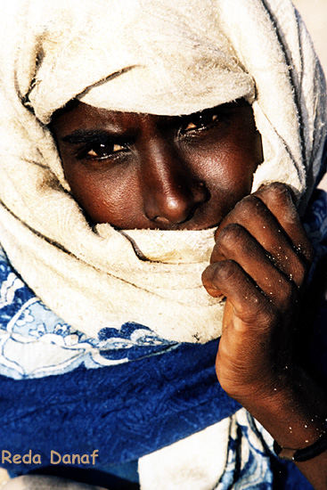 "фото ""Ababda woman."" метки: путешествия, портрет, Африка, женщина"