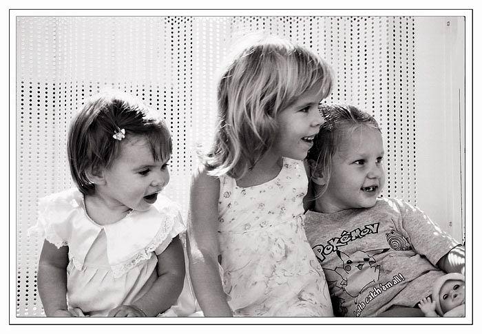 """фото """"Trio B&W"""" метки: портрет, черно-белые, дети"""