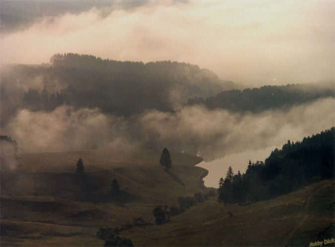 """фото """"Доспат"""" метки: пейзаж, вода, осень"""