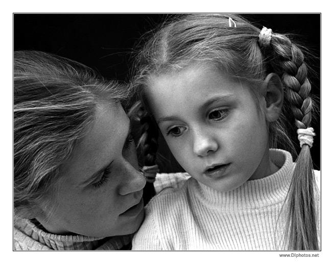 """фото """"Женские секреты"""" метки: портрет, дети, женщина"""