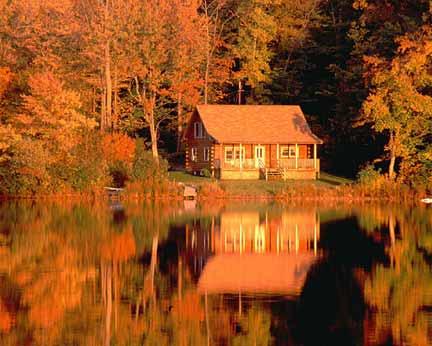 "фото ""House among foliage"" метки: пейзаж, осень"
