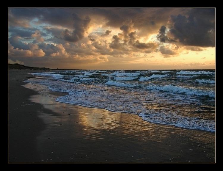 """фото """"The sea story ..."""" метки: пейзаж, вода, закат"""