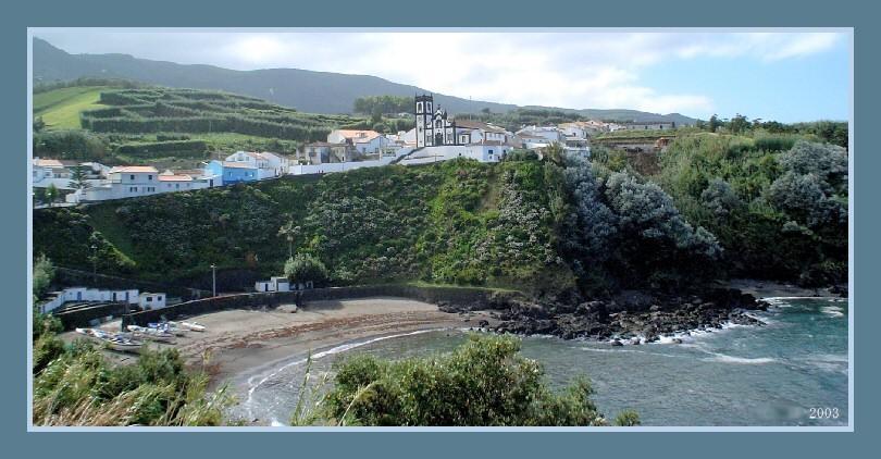 "фото ""Baia do Porto Formoso"" метки: пейзаж, архитектура, осень"