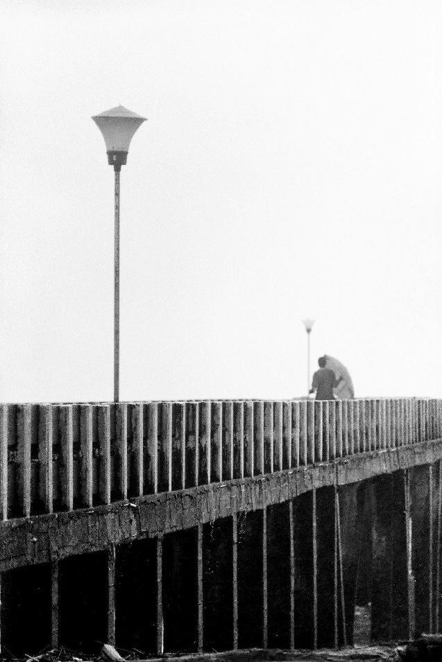 "фото ""Over the dock."" метки: путешествия, черно-белые, Южная Америка"