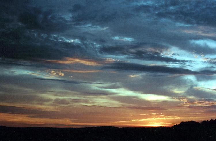 """фото """"Сумбурные закаты (1)"""" метки: пейзаж, закат"""
