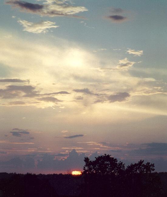 """фото """"Сумбурные закаты (2)"""" метки: пейзаж, закат"""