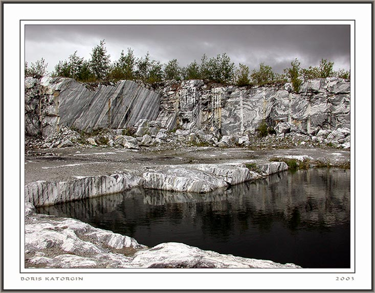 """фото """"Бассейн в мраморе"""" метки: пейзаж, вода, горы"""