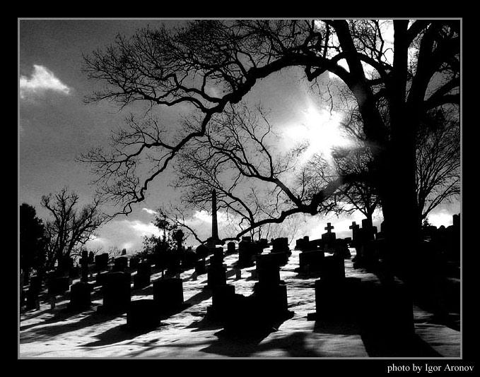 "фото ""Cemetery"" метки: черно-белые, разное,"