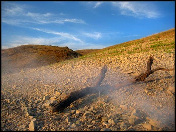 """фото """"Дым костра"""" метки: пейзаж, природа, горы"""