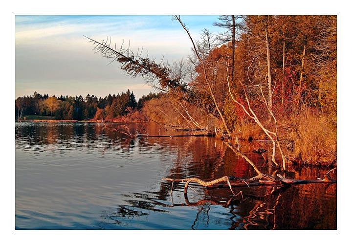 """фото """"Осеннее настроение"""" метки: пейзаж, вода, осень"""